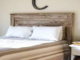 white wooden ceiling and black comforter using aged reclaimed wood headboard king for rustic bedroom ana