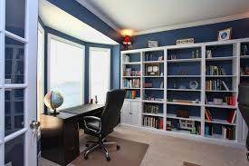 office bookcase with doors. traditional home office with carpet bellmont cabinets pristine bay window custom bookcases bookcase doors e