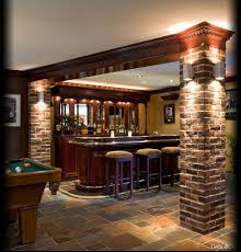 Impressive Basement Bar Ideas Stone Find This Pin And More On For Creativity Design