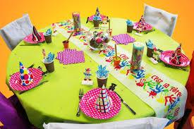 Décoration table anniversaire enfant