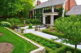 landscape designs front yard-Barrington Hills Residence
