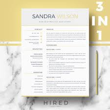 Resume Templates Archives Page 2 Of 7 Hired Design Studio