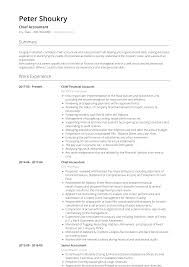 Example Of Accountant Resumes Accountant Resume Samples And Templates Visualcv