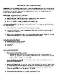 resume lesson plan. Resume Unit Lesson Plan Activities and Handouts TpT