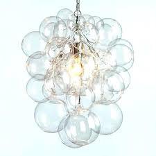 bubble led ceiling light glass blown pendant lighting ideas for a ball chandelier my modern bubble bathroom ceiling light