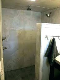 paint shower floor shower shower floor concrete shower floor custom terrazzo white concrete paint shower floor
