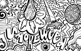 Coloring Pages Colouring Psychedelic And Trippy Books For Adults