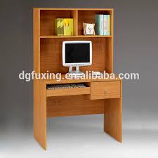 dongguan computer desk with bookshelf computer table images