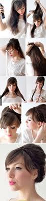 Oben Einfache Hochsteckfrisuren F R Lange Lockige Haare Deltaclic