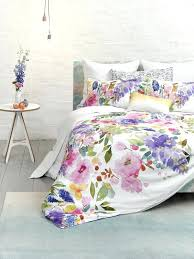 watercolor bedding watercolor bedding in shades of pink lilac purple and green watercolor fl twin bedding
