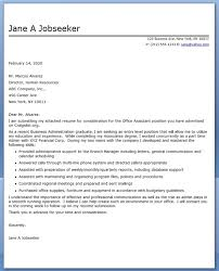 Gallery Of Cover Letter Junior Office Assistant Office Job Cover