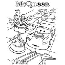 lightning coloring pages. Exellent Coloring Surprised Lightning McQueen Coloring Pages To Print In