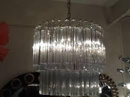 italian crystal murano glass chandelier retro living london uk
