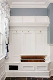 Beadboard Entryway Coat Rack Hall Tree Storage Bench Entry Traditional With Beadboard Within 8