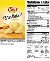 lay s oven baked original potato crisps