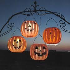 Pumpkin Yard Light Cover Pumpkin Solar Light Halloween Decor Outdoor Halloween Yard