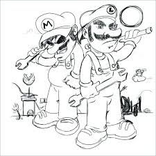 Mario And Luigi Coloring Pages Lovely Mario Luigi Coloring Pages