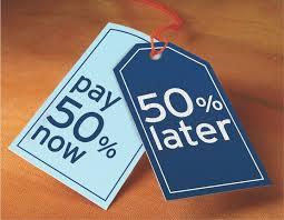 50/50 Payment Plan