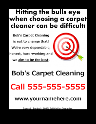 carpet cleaning flyer free download carpet cleaning flyer