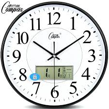 office wall clocks. Office Wall Clocks Large Clock Living Room Mute Watch Simple Calendar Modern Fashion F