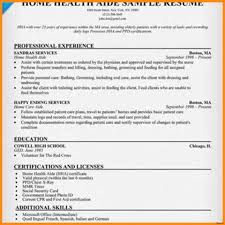 Home Health Aide Resume Template Home Health Aide Resume Sample Toreto Co Objective Templates Free 11