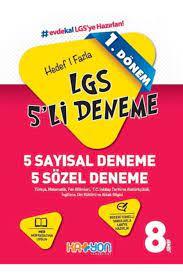 Katyon Yayınları Katyon 8. Sınıf Lgs 1. Dönem 5 Deneme Fiyatı, Yorumları -  TRENDYOL