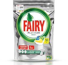 "<b>Капсулы для посудомоечной машины</b> Fairy ""Platinum All in One"", с ..."
