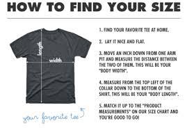 Us Standard Shirt Size Chart Full Product Size Charts Us Teepublic