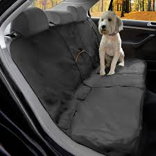 kurgo dog seat cover car bench seat covers for pets dog back seat cover protector water resistant for dogs contains seat anchors scratch proof