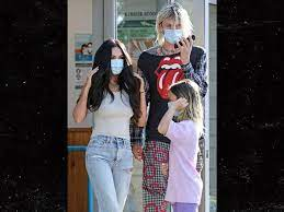 Check spelling or type a new query. Megan Fox And Machine Gun Kelly Take Her Kids Out In L A