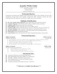 Dental Office Resume Adorable Dental Office Manager Resume Templates Classic For Medical Assistant