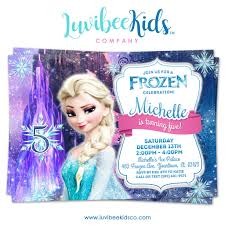 elsa birthday invitations frozen birthday invitation frozen elsa birthday party printables