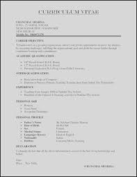 Resume Cover Letter Templates Example Of Simple Resume Cover Letter