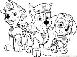 Paw Patrol Coloring Page New Marshall Colouring Pages Ryanbreauxco