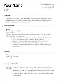 Free Printable Resume Maker Builder Template Online All Best Cv