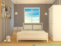 small bedroom furniture. perfect bedroom image titled affordably decorate a small bedroom step 1 to furniture l