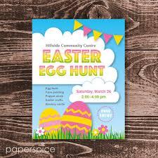 Easter Egg Hunt Flyer Free Download Under Fontanacountryinn Com