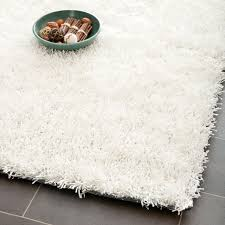 white shag rug. 4\u0027 X 6\u0027 White Shag Rug 9