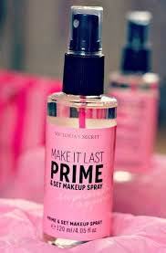 face primer makeup and setting spray review review make up setting spray victoria s secret