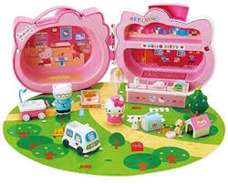 o kitty vending machine toy both my little and little boy are crazy for this toy lots of small pieces so watch little children with them and for