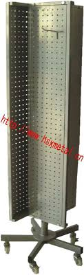 Pegboard Display Stands Uk Metal Peg Board Rotating Display Stand China Mainland Display Racks 95