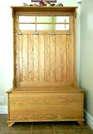 Entryway Wall Coat Rack Entryway Wood Hall Tree Coat Rack Storage Bench Hallway With Picture 37