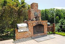 build outdoor fireplace grill