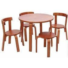 kids table and chair set svan play with me toddler table set with 3 chairs and stool 100 wood cherry find out more about the great at