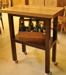 bar table with wheels