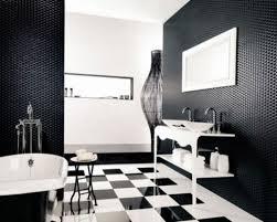 Awesome design black white Futuristic Interior Interior Black And White Blue Bathroom Wastafel Two Person Bathtub Grey Wall Paint Border Tile Dreamstimecom Black And White And Blue Bathroom White Wastafel Two Person Bathtub