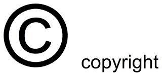 All Rights Reserved Symbol Copyright Symbols Copyright All Rights Reserved Symbols W