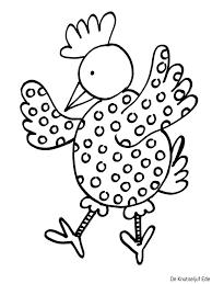Kippen Kleurplaten Kippen Kippetjes Kuikens Kleurplaat Haan