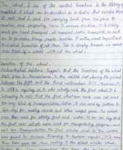 Essay About Invention Revolutionary Wheel Essay By Child Scientist Ollung Paron