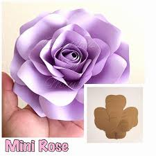 Paper Flower Template Pdf Paper Rose Template Pdf Unique Paper Flower Template Pdf Awesome